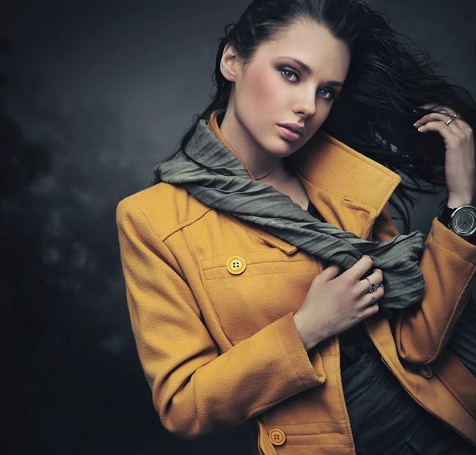 La tendance des manteaux colorés.