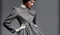 Le manteau évasé pour une féminité maximum.