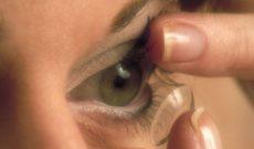 La vie change avec une lentille de contact