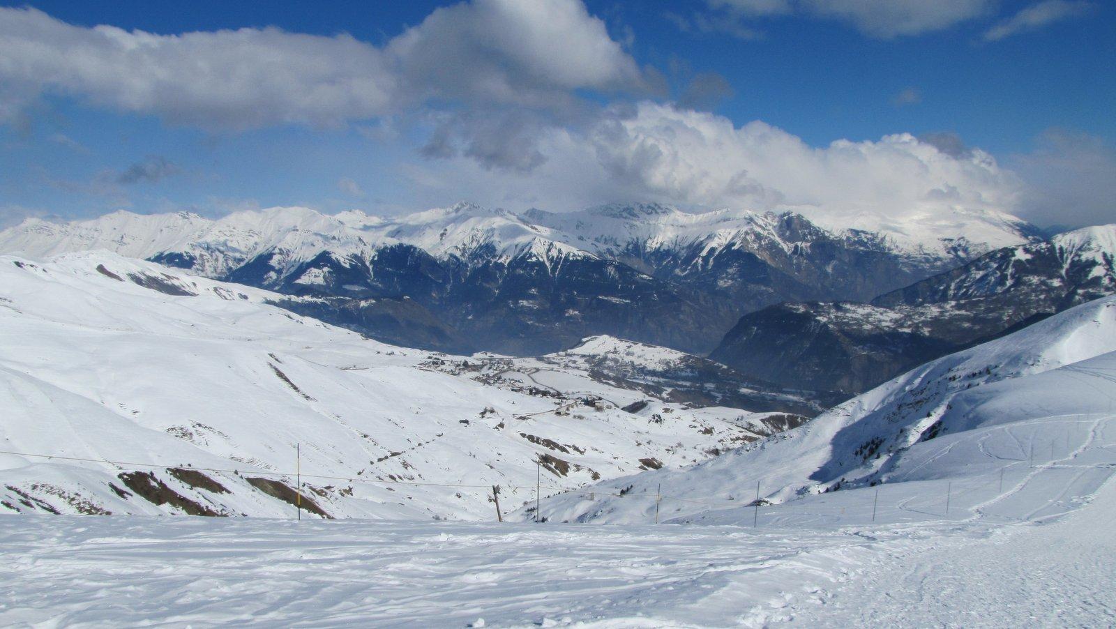 La Toussiure : j'adore les pistes de ski de cette station