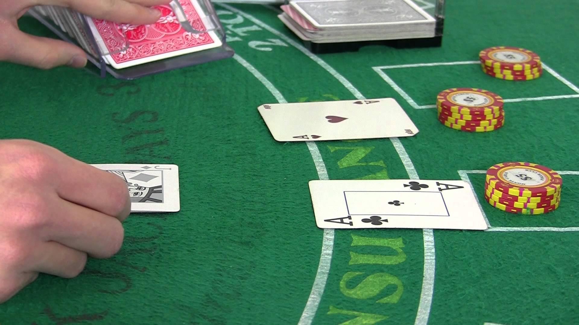 Les actions à connaitre en blackjack