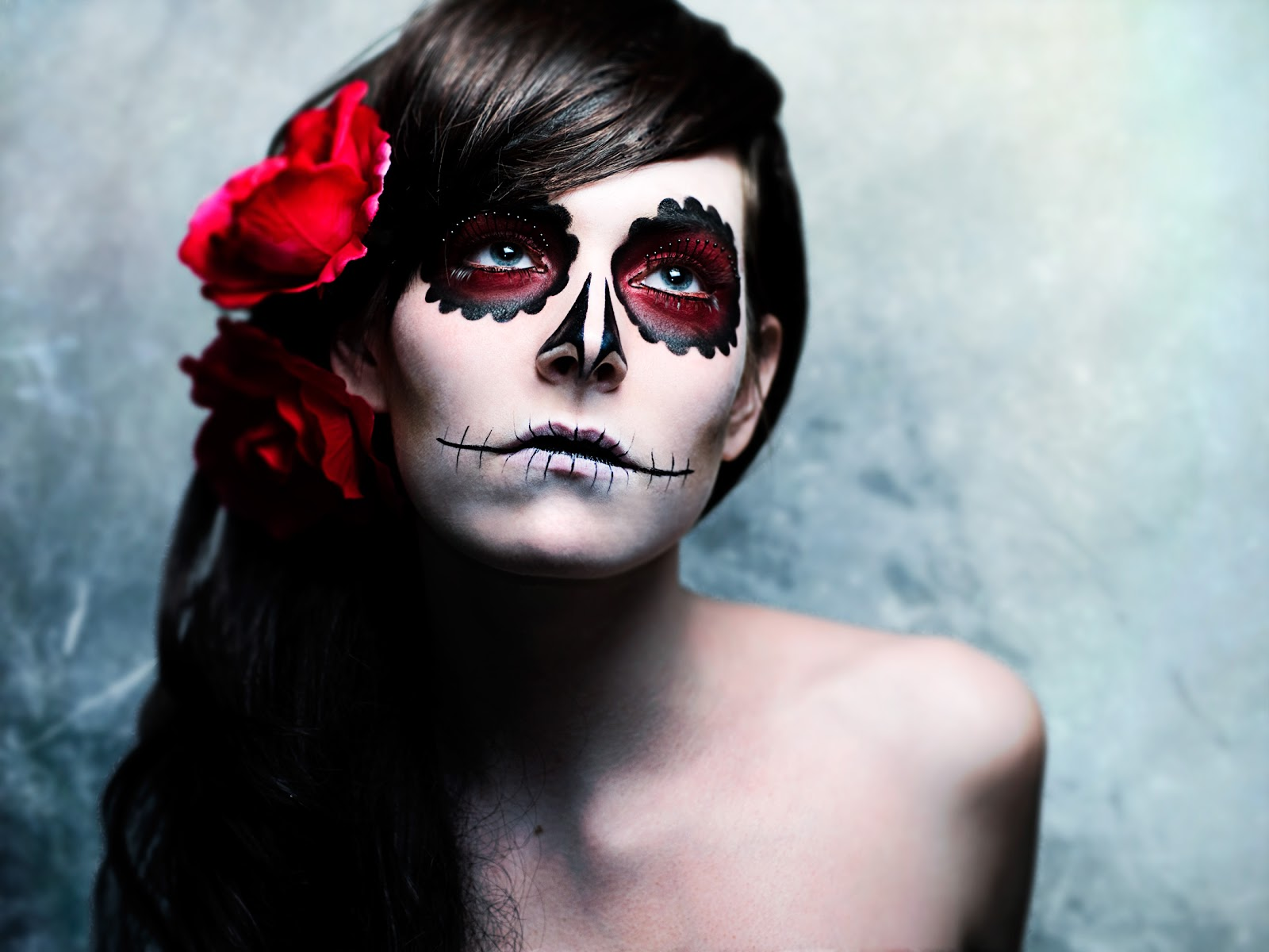 Maquillage Halloween Homme Zombie Simple
