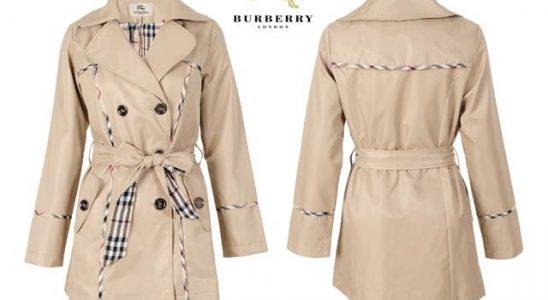 burberry manteau femme