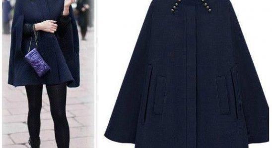 manteau cap femme