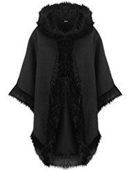 manteau cape capuche femme