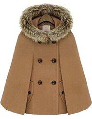manteau cape femme capuche