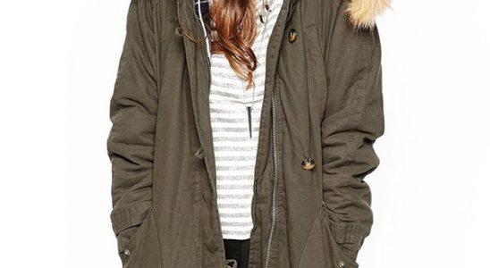 manteau capuche vraie fourrure femme