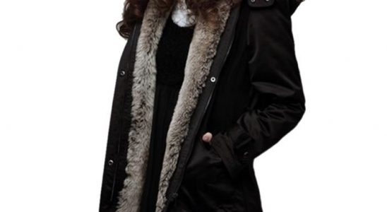 manteau chaud femme