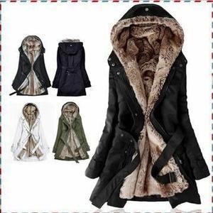manteau chaud femme pas cher