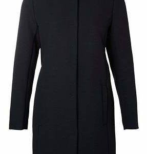 manteau col rond femme