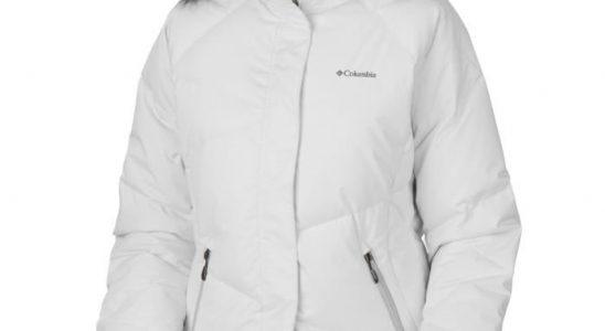 manteau columbia femme