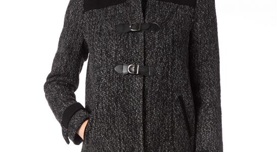 manteau court hiver femme
