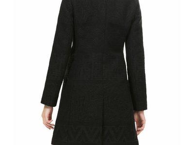 manteau court laine femme