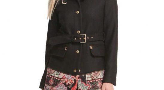 manteau desigual femme