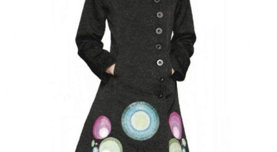 manteau desigual femme soldes