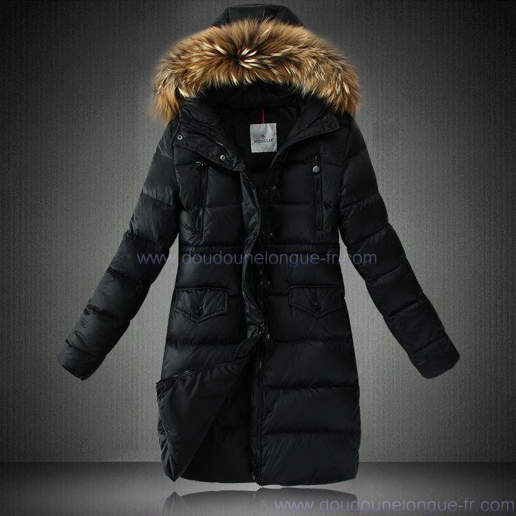 manteau doudoune femme longue