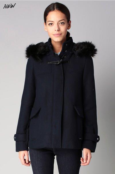 manteau drap de laine femme. Black Bedroom Furniture Sets. Home Design Ideas