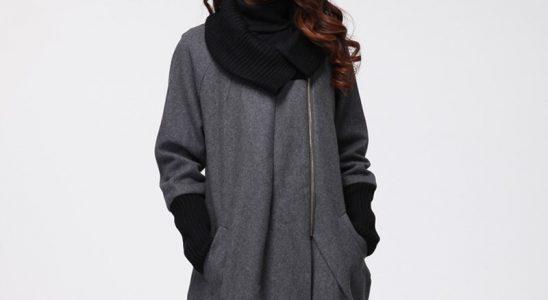 manteau en laine femme