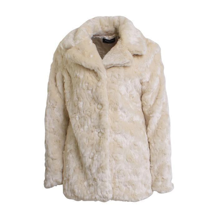 tout à fait stylé vente chaude grande collection Manteau fausse fourrure femme pas cher