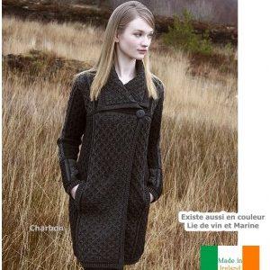 manteau femme 100 laine
