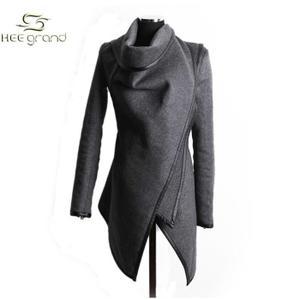 manteau femme asymétrique