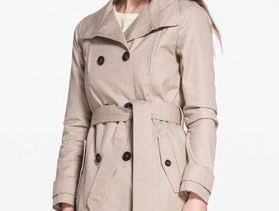 manteau femme beige