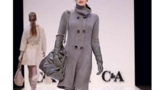 manteau femme c et a