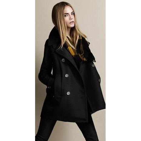 manteau femme caban