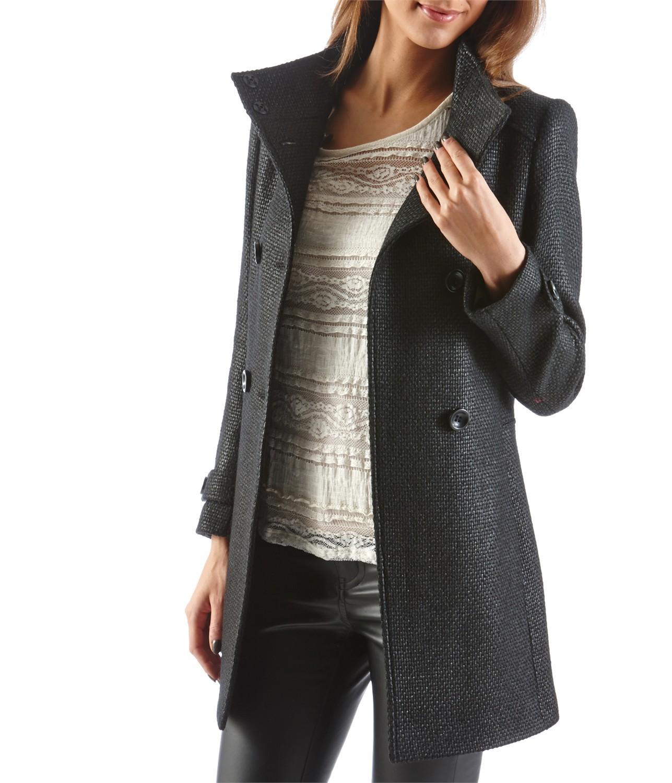 Manteau femme camaieu - Vente de laine pas cher ...