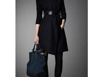 manteau femme ceinture