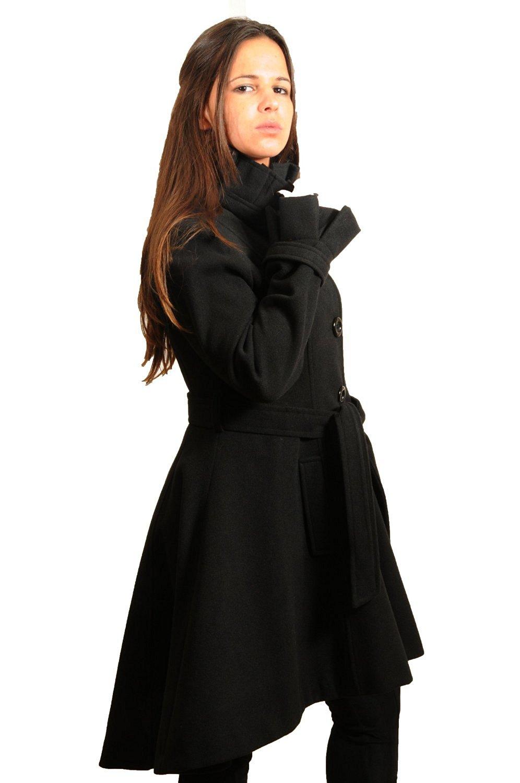 Manteau femme evase