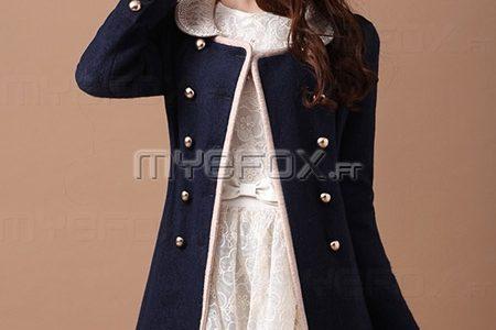 manteau femme cintrée