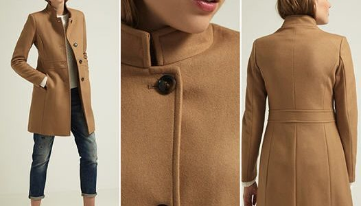 manteau femme classique