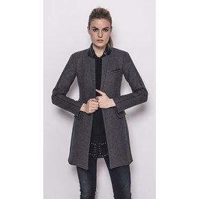 manteau femme col officier