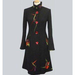 manteau femme coloré