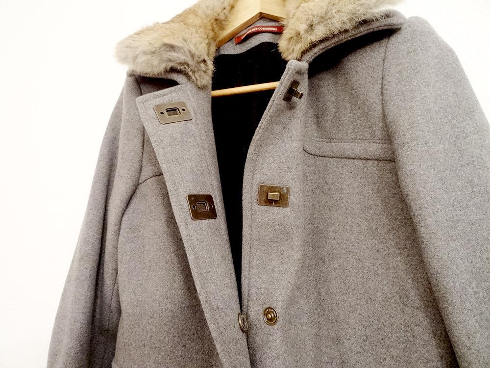 Manteau femme comptoir des cotonniers - Manteau peau retournee comptoir des cotonniers ...