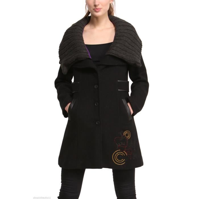 manteau desigual femme pas cher wl38 jornalagora. Black Bedroom Furniture Sets. Home Design Ideas