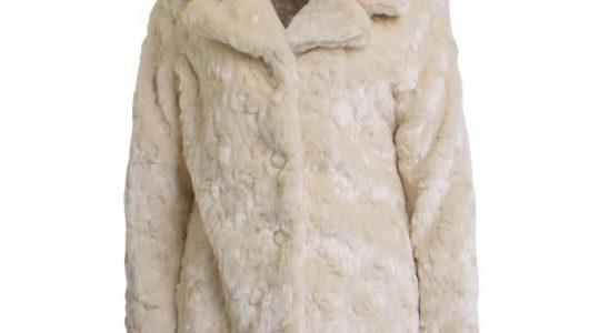 manteau femme fausse fourrure pas cher