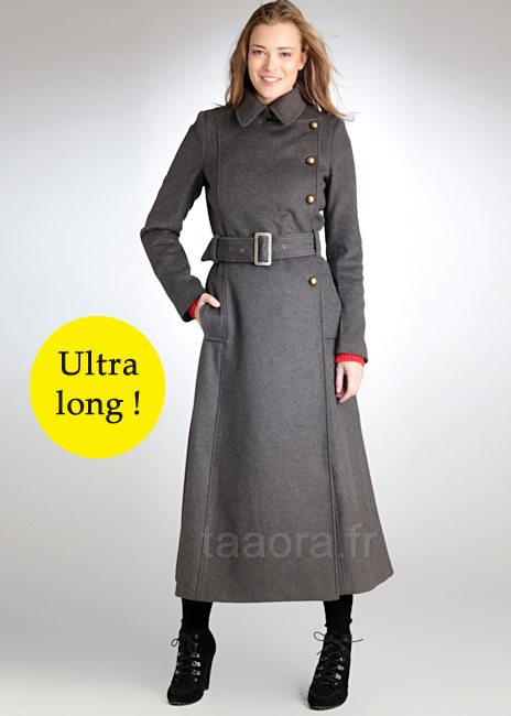 manteau femme hiver long. Black Bedroom Furniture Sets. Home Design Ideas
