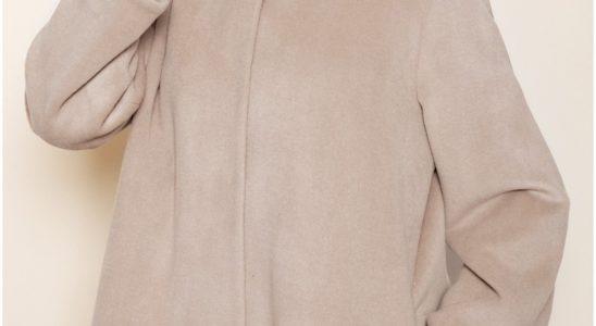 manteau femme laine capuche