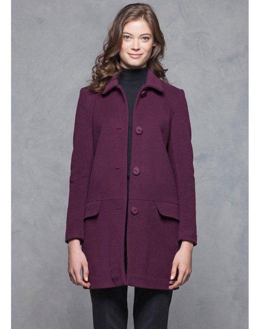 manteau femme laine et cachemire