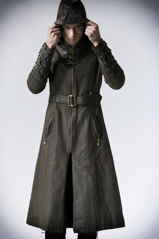 manteau femme long avec capuche