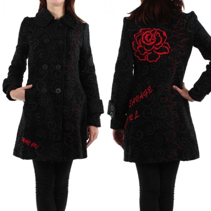 manteau femme original. Black Bedroom Furniture Sets. Home Design Ideas