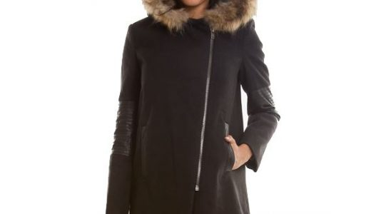 manteau femme trapèze