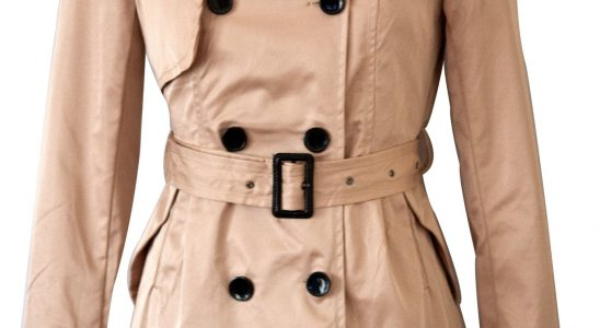 manteau femme trench