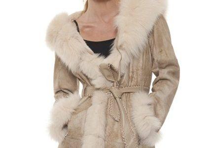 manteau fourrure femme