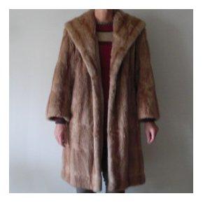 manteau fourrure femme vison