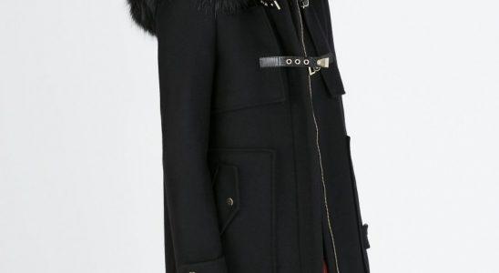 manteau fourrure femme zara