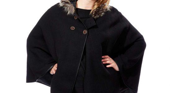 manteau grande taille femme