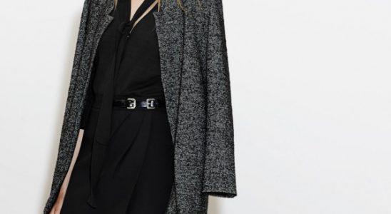 manteau gris femme zara